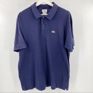 Lacoste men's blue polo shirt